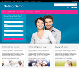 Dating websites themes